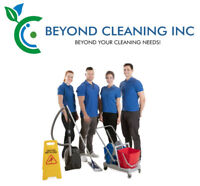 Cleaning and janitorial services for offices and businesses
