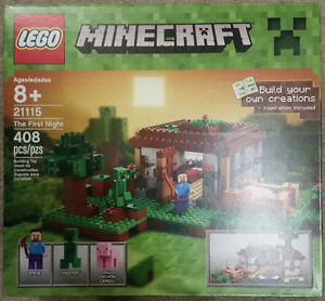 LEGO Minecraft The First Night Lego set - 408 pieces