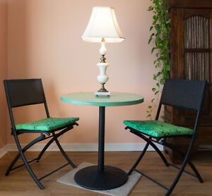 Table et chaises de patio