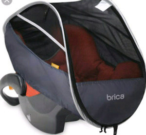 Universal car seat/carrier cover
