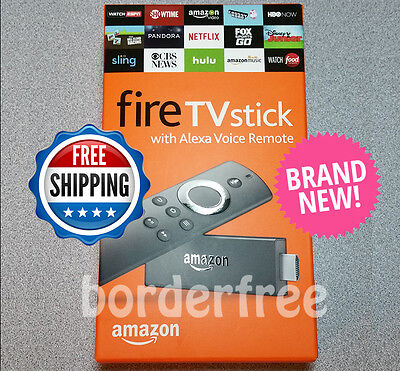 Fire TV Stick w/ Alexa Voice Remote Streaming Media Player (2nd Generation)