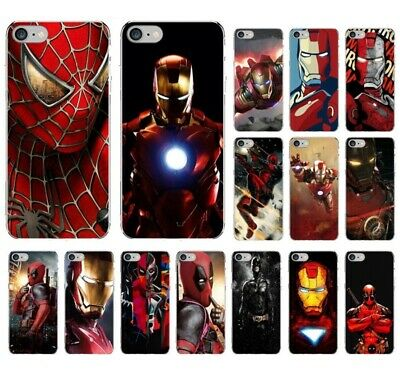 Spiderman Iron man deadpool marvel soft case cover for iphone 6 7 8 X XS MAX XR