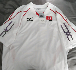 Mizuno Team Canada Men's Volleyball Jersey (3XL)