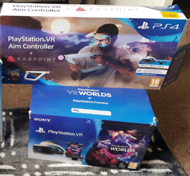 Boxed Sony PSVR VR System Bundle