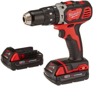 Milwaukee Tool M18 18V Lithium-Ion Cordless 1/2-Inch Hammer Dril