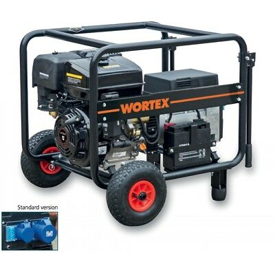Power Generator Petrol Engine-generator 85 Kva Electric Start