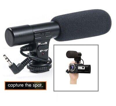 New Mini Condenser Pro Microphone For Canon Vixia HF R800 R82 R80 GX10