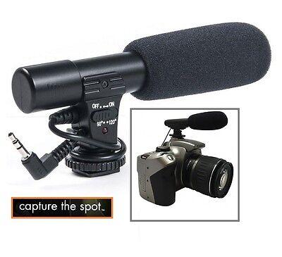 Mini Condenser Professional Microphone For Panasonic Lumix DMC-FZ1000 DMCFZ1000K