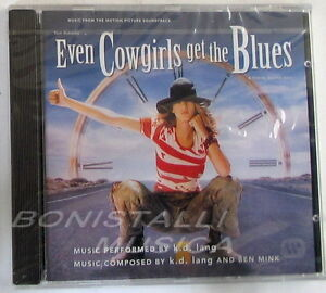 K-D-LANG-EVEN-COWGIRLS-GET-THE-BLUES-SOUNDTRACK-O-S-T-CD-Sigillato
