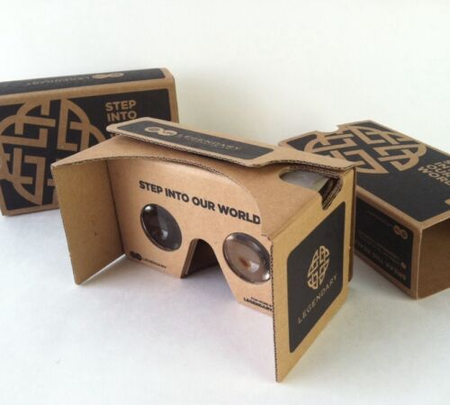 Google Cardboard Virtual Reality SDCC 2015 Comic Con Exclusive Legendary Swag VR
