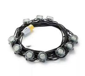 Defender 110v 50m LED Festoon Hanging Light Chain