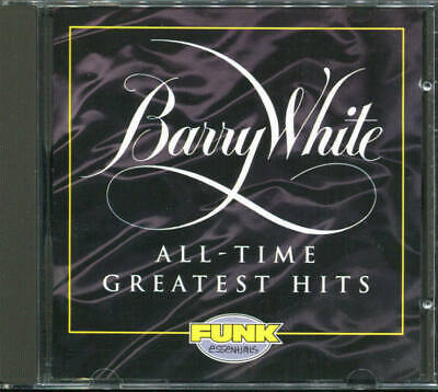 20 All-Time Greatest Hits by Barry White (Cd Jan-1994) FUNK ESSENTIALS BEST