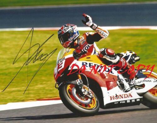 MARC MARQUEZ(2) - MOTO GP  AUTOGRAPHED PICTURE SIGNED 8X10 PHOTO REPRINT