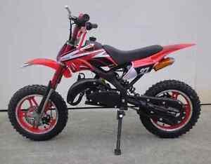BRAND NEW mini kids 49 cc motor dirt bike pit bike 50 cc  petrol Parafield Gardens Salisbury Area Preview