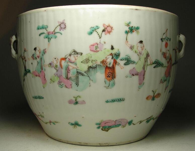 Qing Dynasty Beautiful Large Bowl