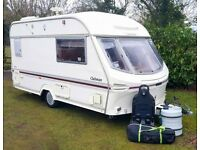 Lunar Clubman Caravan - Full Awning - No Damp