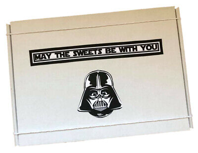 Star Wars Personalised Sweets Gift Box and Light Sabre Toy Hamper
