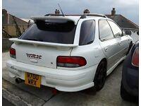 wrx STI genuine subura wagon fully forged engine 300 + bhp