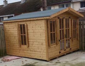 CLEARANCE SALE - SHED FACTORY BOUCHER RD, BELFAST, OPPOSITE SIDE OF M&S PLAYHOUSE SUMMERHOUSE