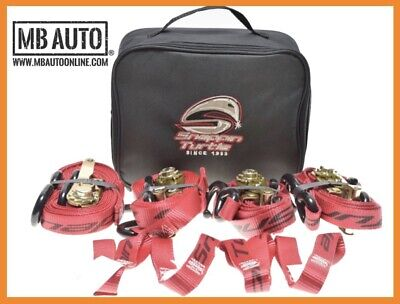 Snappin Turtle truck tie down straps kit heavy duty w bag kit 1 x 9' 1 x 15'