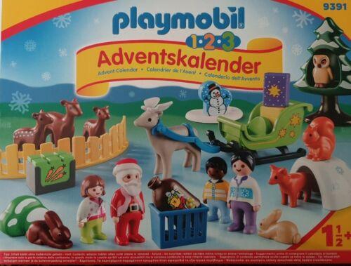 PLAYMOBIL 9391 Adventskalender 1.2.3 Waldweihnacht der Tiere