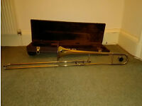 Sonata Brass Trombone - with case and some maintenance products