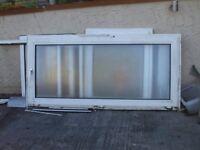 1 x old pvc windows free