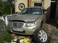 Car for scrap rover 75. car for scrap