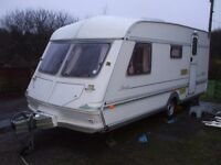 nice 4 berth caravan for sale