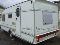 spacious warm dry 4 berth caravan