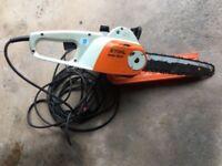 "Stihl MSE 140 C Electric Chainsaw 14"" Bar & Chain"