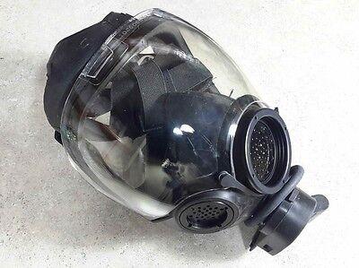 Msa 40mm Nato Millennium Cbrn Gas Mask Nbc Respirator Medium 10051287 Newnib
