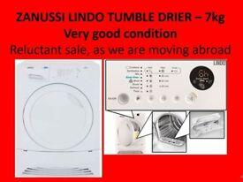 ZANUSSI LINDO TUMBLE DRIER - £60