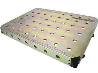 26 x 19 Steel Welding Table Top Platform Clamp Peg Holes Zinc Plated Weld Area