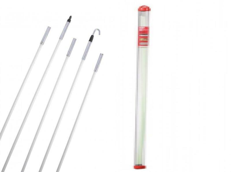 15 Ft Klein Tools Gardner bender fish sticks Glow Rod Set Electrical Wire Fish