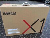 BRAND NEW Lenovo ThinkVision X1 27 inch LED IPS Monitor 4K DISPLAY - BNIB