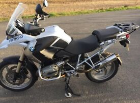 BMW R1200 GS louder, lighter exhaust. BSAU 193A-T3/1990