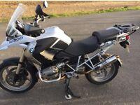 BMW R1200 GS louder, lighter exhaust. BSAU 193A-T3/1990