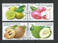 Australia 2017 Cocos Keeling Isole Giardino Frutta Pregiato Usato -  - ebay.it