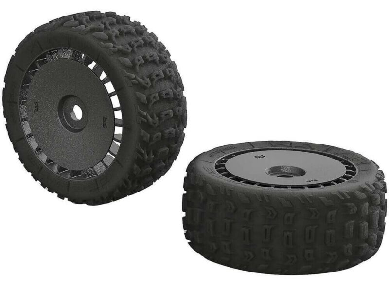 ARRMA Talion 6S BLX dBoots Katar T Mounted Tires AR550048