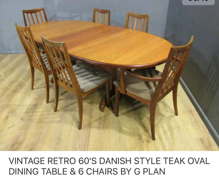 G Plan Teak Table And Chairs For In Slough Berkshire Gumtree