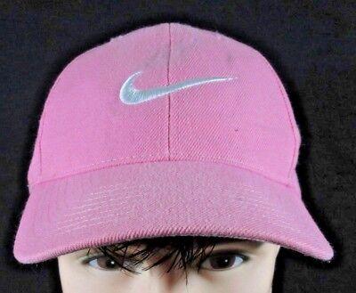 ~ NIKE ~ Pink LADIES WOMEN GIRLS Running HAT CAP White Swoosh](Girls Pink Ladies Jacket)