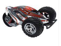 X-tough tri runner 1:10 remote control car - brand new in box