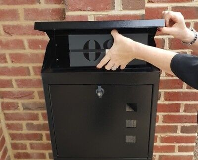 HUGE LOCKABLE WATERPROOF PARCELBOX NEVER MISS A PARCEL AGAIN - FREE UK (Gucci Delivery)