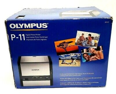 Olympus P-11 Digital Photo Thermal Printer - New in open box- See -