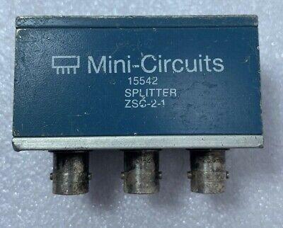Mini Circuits 15542 Splitter Zsc-2-1