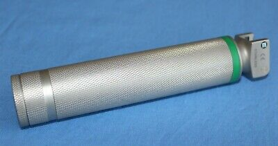 SunMed Greenline Stainless Steel Laryngoscope Textured Handle - EXCELLENT COND