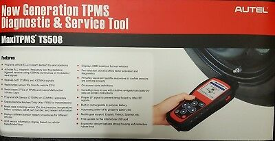 MAKE OFFER! Autel Model TS508 Maxi TPMS Diagnostic Service Tool Kit Sensors Scan