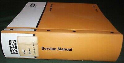 Case 450 Crawler Tractor Dozer Bulldozer Service Shop Repair Book Manual