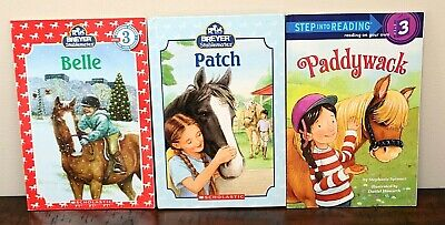 BREYER STABLEMATES BOOK LOT Horse Pony Girls Early Chapter Books Level 3 Belle